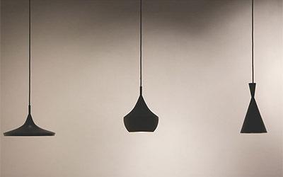 创意黑色简约吊灯
