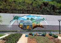 美丽乡村文化墙彩绘,即将刷新农村新样貌值得你的期待