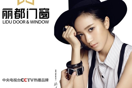 申博sunbet门窗品牌形象代言人解惠清