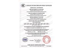 Back hanging 3C certification English