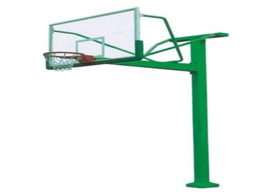 方管地埋籃球架
