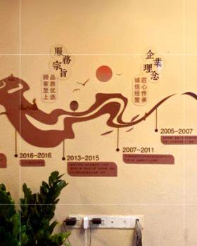 勐品国茶文化墙