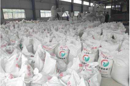 四川某化肥公司订购预糊化淀粉预糊化木薯淀粉-案例展示