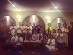 艾香茗茶书院与梵修瑜伽馆举办《花非花》静心茶会