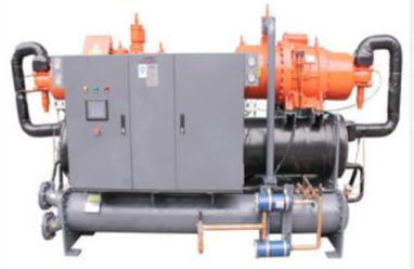 歐博水冷螺桿式冷水機組(雙壓縮機)
