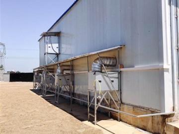 新希望六和烘干房安装凯沃能烘干消毒系统