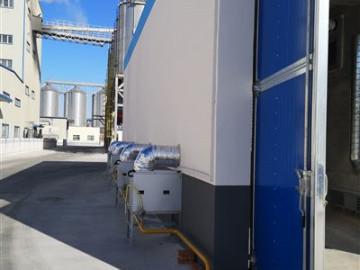 吉林中粮烘干房安装凯沃能烘干消毒系统