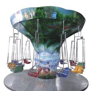 森林飛椅 Ocean flying chair