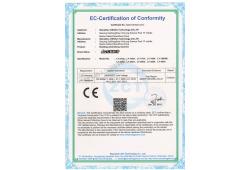 Eurovision building advertising machine CE LVD certificate