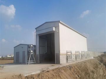 东营正大烘干房安装凯沃能烘干消毒系统