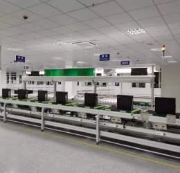 电脑服务器生产线