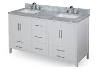 欧式浴室柜两类安装方法