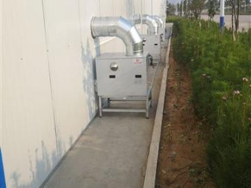 四川巨星眉山烘干房安装凯沃能烘干消毒系统
