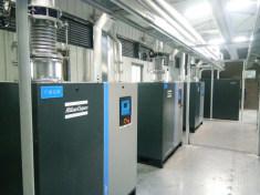 某电子塑胶公司真空泵系统