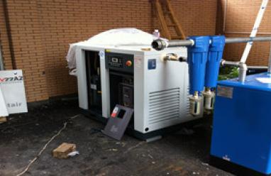 紡織化纖行業廣泛使用復盛空壓機