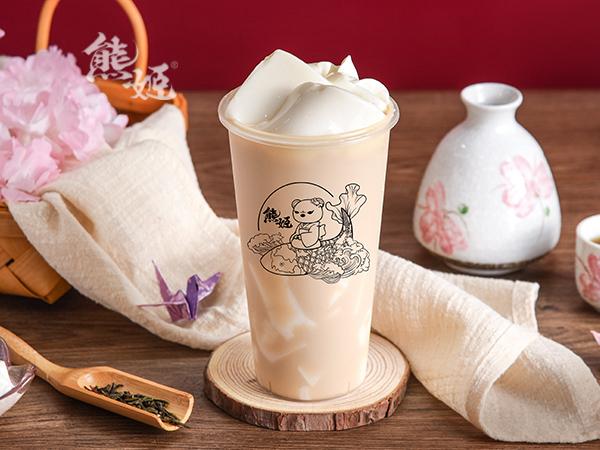 白布蕾奶茶