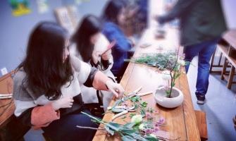 中式传统插花