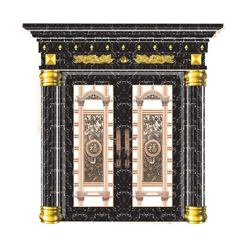 不锈钢罗马柱门