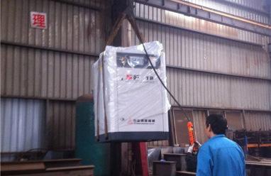 冶金鋼鐵特鋼等諸多行業選用復盛螺桿機