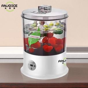 安捷雅果蔬消毒清洗机智能洗菜机家用全自动洗水果机活氧食材机