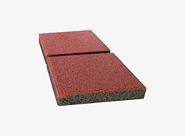 红透水砖300X300X60