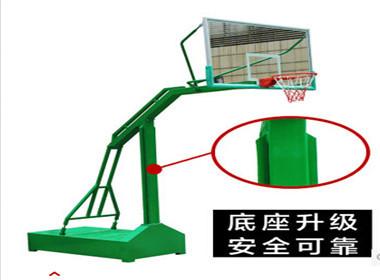 凹箱籃球架