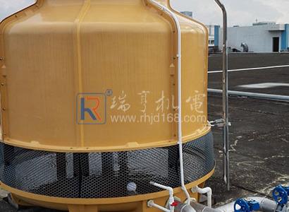 惠州仲愷某廠水冷柜式中央空調工程