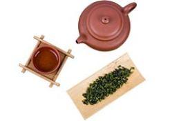中国风紫砂茶具