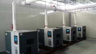某印刷厂真空泵系统