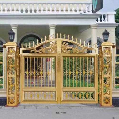 彩色庭院门