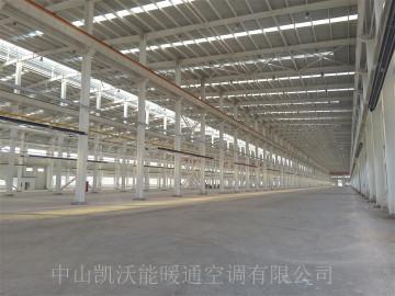 山西晋中神龙可建30000平米厂房使用LTV50-18N负压低密度管式辐射加热器127套
