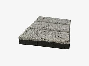 仿石白色透水砖