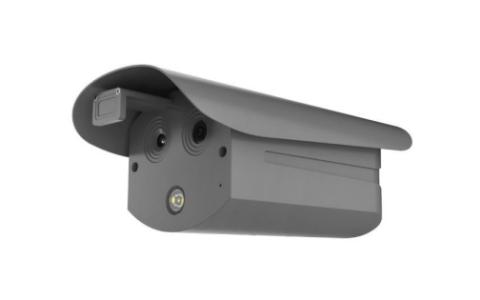Thermal imaging human body temperature measurement camera