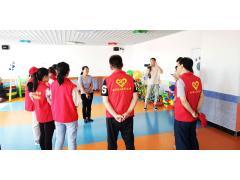 银川市检察院和兴庆区双庄社区---关爱特殊儿童公益活动