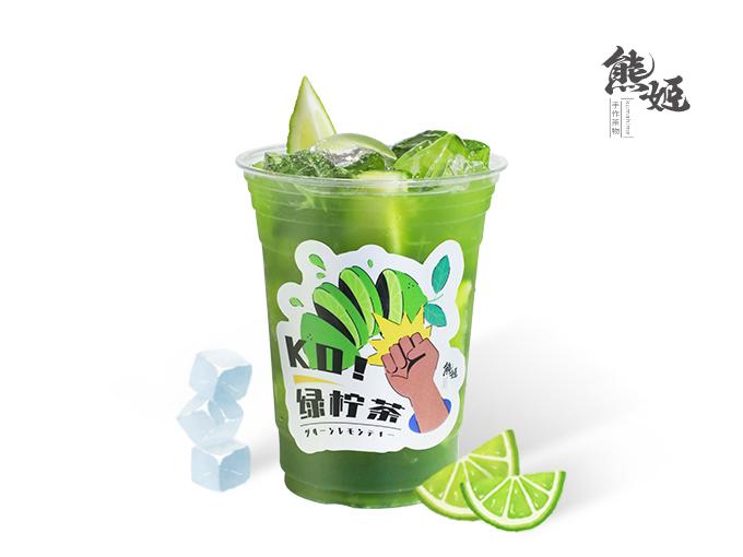 暴打泰绿柠檬茶