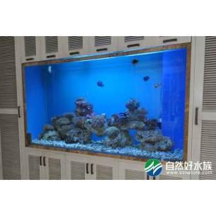 嵌入式海水生态鱼缸1