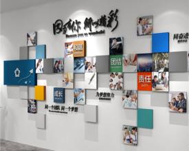 """广州沃森广告:Logo背景墙厂家,""""揭开""""企业墙上的强大秘密"""