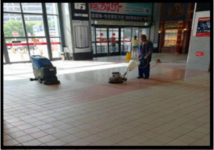 大连商场保洁