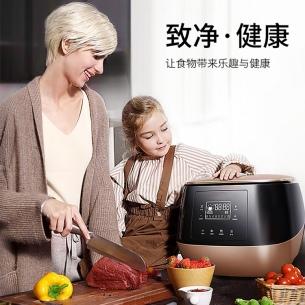 果蔬清洗机洗水果机超声波全自动家用水果蔬菜臭氧解毒机食材机
