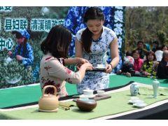 安徽合和道茶仙子们受邀参加2015含山乡村旅游节