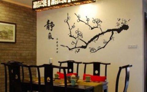 中式墙景背景墙