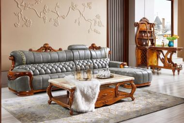 SF617沙发、CJ613茶几