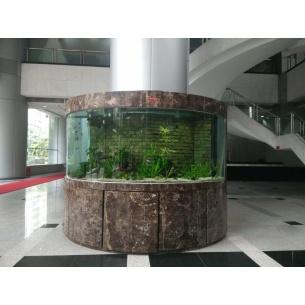 大型圆柱水草缸