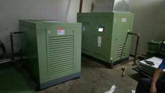 贴片行业37KW空压机系统