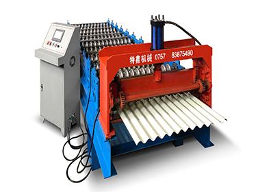 800波纹瓦机械