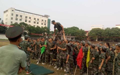 户外少年军事体验式拓展营