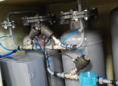 東莞塘廈某廠注塑機氮氣輔助增壓氣輔工程