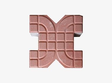 X型环保植草砖