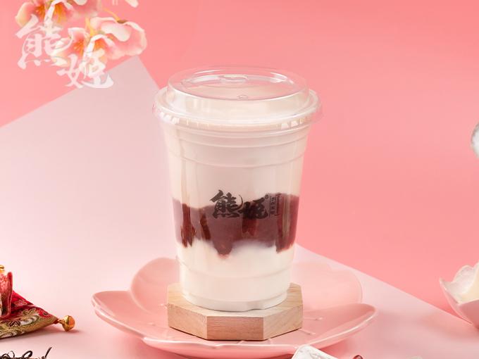 星野红豆大福奶茶