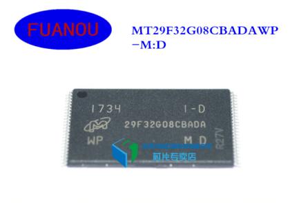 MT29F32G08CBADAWP-M:D